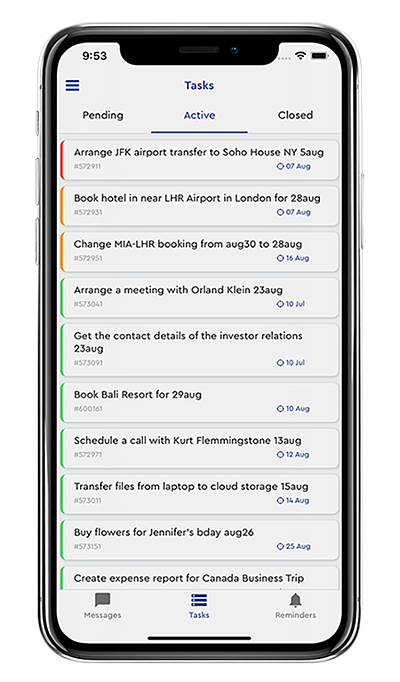 The Sigrid app for iOS